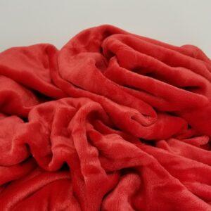 Red VelvetLoft Throw Blanket
