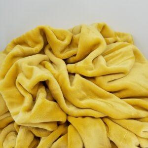 Yellow VelvetLoft Blanket