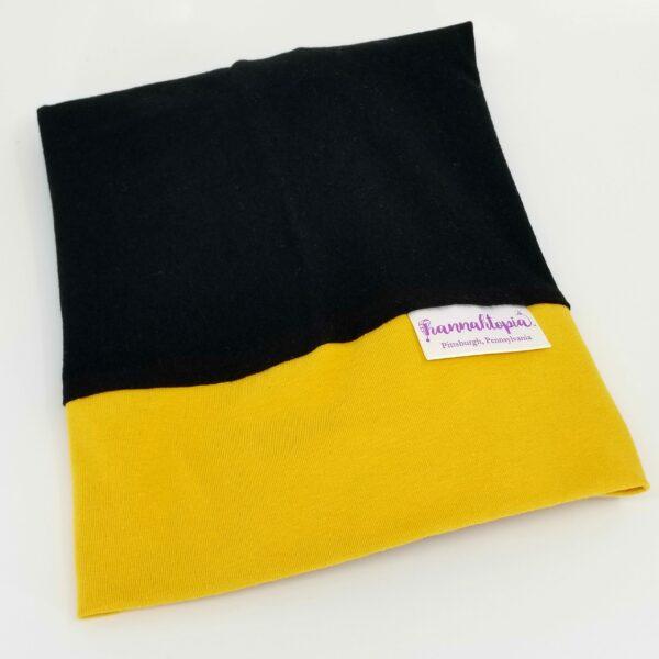 Black and Yellow NillyNoggin EEG Cap