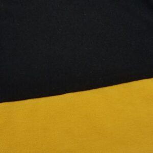 Black and yellow NillyNoggin EEG Cap fabric